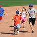 Kids Running The Bases at Hohokam Stadium (0852)