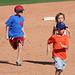 Kids Running The Bases at Hohokam Stadium (0853)