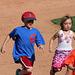 Kids Running The Bases at Hohokam Stadium (0855)
