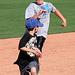 Kids Running The Bases at Hohokam Stadium (0772)