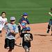 Kids Running The Bases at Hohokam Stadium (0773)