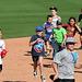 Kids Running The Bases at Hohokam Stadium (0775)