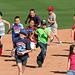 Kids Running The Bases at Hohokam Stadium (0776)