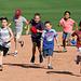 Kids Running The Bases at Hohokam Stadium (0778)
