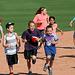 Kids Running The Bases at Hohokam Stadium (0779)
