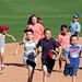 Kids Running The Bases at Hohokam Stadium (0780)