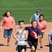 Kids Running The Bases at Hohokam Stadium (0781)