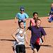 Kids Running The Bases at Hohokam Stadium (0782)