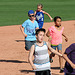 Kids Running The Bases at Hohokam Stadium (0783)