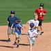 Kids Running The Bases at Hohokam Stadium (0841)
