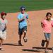 Kids Running The Bases at Hohokam Stadium (0784)