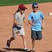 Kids Running The Bases at Hohokam Stadium (0785)