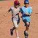 Kids Running The Bases at Hohokam Stadium (0786)