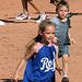 Kids Running The Bases at Hohokam Stadium (0790)