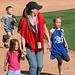 Kids Running The Bases at Hohokam Stadium (0791)