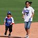 Kids Running The Bases at Hohokam Stadium (0792)