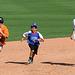 Kids Running The Bases at Hohokam Stadium (0794)