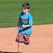 Kids Running The Bases at Hohokam Stadium (0797)
