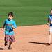 Kids Running The Bases at Hohokam Stadium (0798)