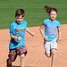 Kids Running The Bases at Hohokam Stadium (0799)