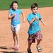 Kids Running The Bases at Hohokam Stadium (0801)