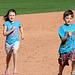 Kids Running The Bases at Hohokam Stadium (0802)