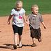 Kids Running The Bases at Hohokam Stadium (0805)