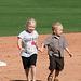 Kids Running The Bases at Hohokam Stadium (0806)