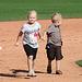Kids Running The Bases at Hohokam Stadium (0807)