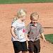 Kids Running The Bases at Hohokam Stadium (0808)
