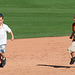 Kids Running The Bases at Hohokam Stadium (0831)