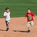 Kids Running The Bases at Hohokam Stadium (0832)