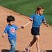 Kids Running The Bases at Hohokam Stadium (0864)