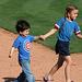 Kids Running The Bases at Hohokam Stadium (0865)