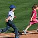 Kids Running The Bases at Hohokam Stadium (0867)