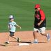 Kids Running The Bases at Hohokam Stadium (0868)