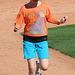 Kids Running The Bases at Hohokam Stadium (0871)