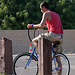 Postgame Bicyclist (0887)