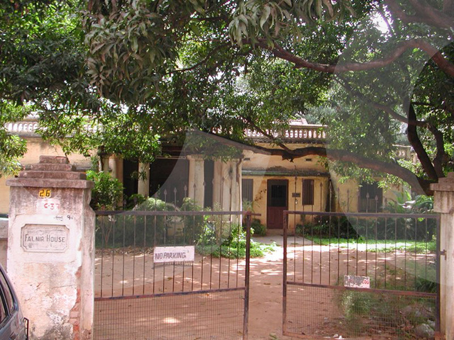 old colonial house