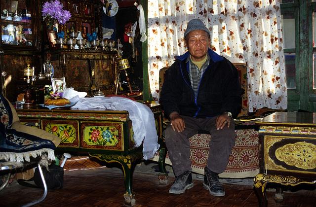 The King His Royal Highness Jigme Palbar Bista