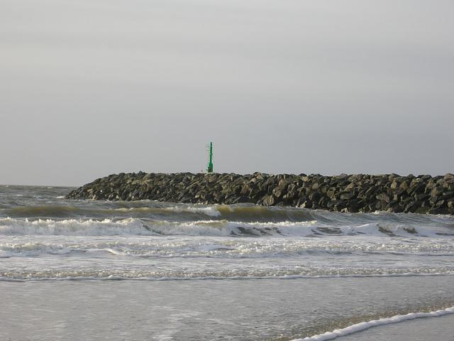 Hafeneinfahrt Hvide Sande