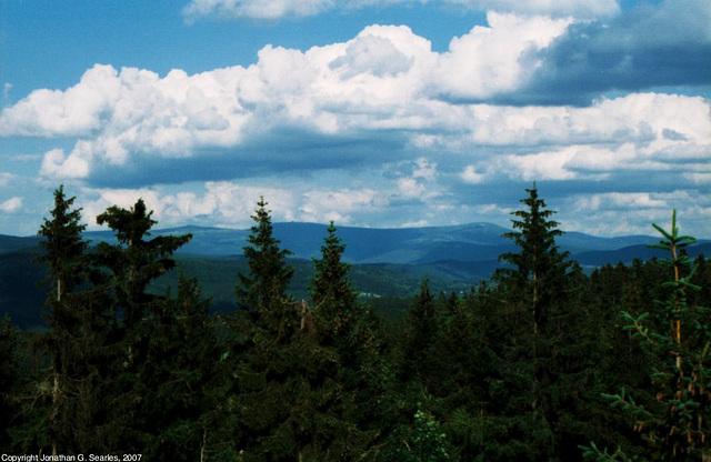 View From Slovanka, Liberecky Kraj, Bohemia(CZ), 2007