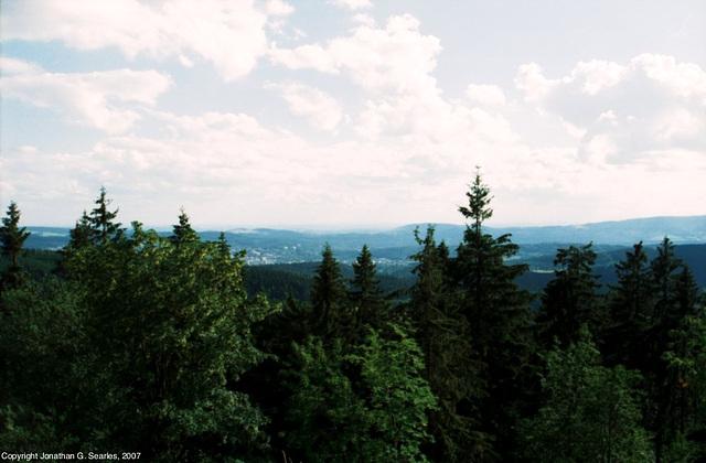 View From Slovanka, Picture 3, Liberecky Kraj, Bohemia(CZ), 2007