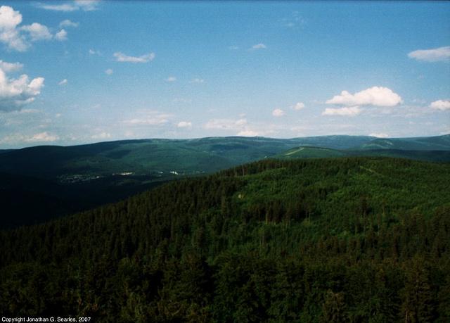 View From Stepanka, Picture 3, Liberecky Kraj, Bohemia(CZ), 2007