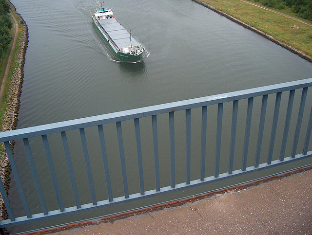 Alte Levensauer Hochbrücke bei Kiel