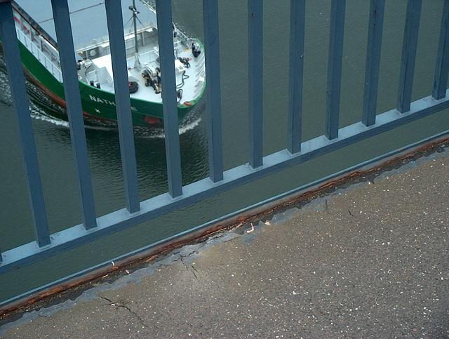 shipspotting von der Levensauer Hochbrücke