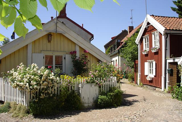 Kalmar im Dorf