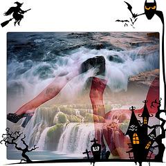 Création Krisontème - Talons Hauts Halloweeniens /  Halloween high heels.
