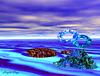 A désert bleu