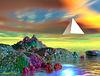 A pyramide blanche